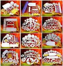 Best Quality Sugarcarft Plungers Cutters Modelling Tools Smoother Cake Decoratin
