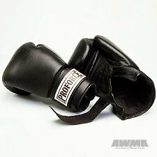 ProForce Leather Boxing Gloves - training gear cardio equipment workout supplies