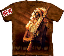 No More Talk Native American Indian The Mountain Adult T-Shirt