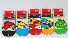Angry Birds Stripe socks for Kids Toddler Boys Girls 3T-5T 5T-7T 7T-9T