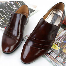 New Jurdan Mens Brown Leather Dress Loafers Shoes Novamall