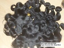 "Virgin Peruvian Remy Hair -Body wave-12 - 20""  *CLEARANCE SALE + Free UK Post"