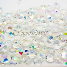 AB/IRIDESCENT WEDDING TABLE SCATTER ACRYLIC CRYSTALS DIAMOND DECORATION 4 SIZES