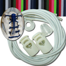 """2 pairs of No Tie Elastic Shoe Laces 13 color available 32"""""""