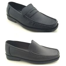 Mens Shoes / Smart Loafers Size  6 7 8 9 10 11  White, Black, Brown,
