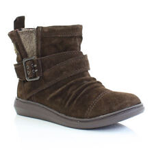 Womens Rocket Dog Mint Tribal Brown Flat Ladies Suede Ankle Boots Size 3-8