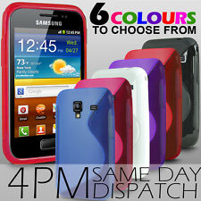 S LINE WAVE GEL SKIN CASE FOR SAMSUNG GALAXY ACE PLUS S7500