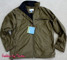 New With Tag Columbia Men's OMNI-SHIELD Utilizer Jacket Light Weight Retail $90