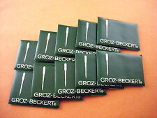 100 GROZ-BECKERT  EMBROIDERY SEWING MACHINE NEEDLES Size 8, 9,10,11,12,14 DBxK5
