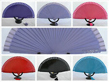 Spanish flamenco diamante wooden hand fans eventails fächers ventagli abanicos