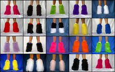 Ready Made Fluffies Fluffy Furry Legwarmers Boots Covers Rave Furries Gators