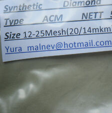 Diamond Powder Polishing Lapidary, sizes from50.000 to 500 Grit  Mesh 25Cts.,=5g