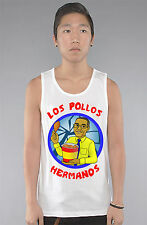 Breaking Bad Shirt Walter White Restaurant Los Pollos Hermanos Gus White Tank