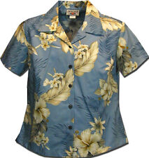 Ladies Aloha Shirts Fitted The Luau 348-3162 NEW Made in Hawaii. Free Shipping