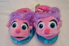 Sesame Street Abby Cadabby Toddler Girls Slippers Size 7 8 9 10 New With Tags