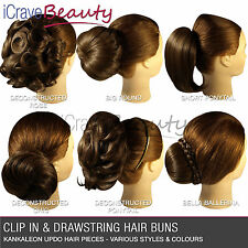 Clip in Hair Bun - All Styles & Colours Bun Hairpiece