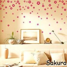 Sakura Vinyl Mural Wall paper stickers Art Decal