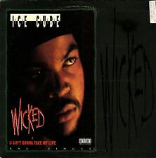 1992 - ICE CUBE - WICKED / U AIN'T GONNA TAKE MY LIFE - PRIORITY RECORDS OG!