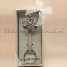 Unique design Pewter Kechain Fleur De Lis Butterfly Crown Angel Gift key finder