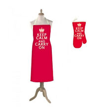 Vintage KEEP CALM CARRY ON Apron Chopping Memo Board Sign Christmas Gifts