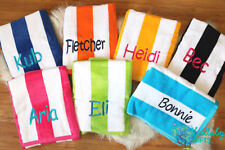 Personalised Beach Towel, Embroidered Beach towel. Great gift idea