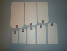 50  AVERY MANILLA BLANK SHIPPING HANG TAGS SCRAPBOOK GIFT INVENTORY PAPER LABEL