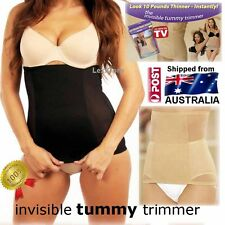 Invisible Tummy Trimmer, Body Shapewear Slimmer in Nude or Black S M L XL XXL