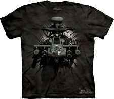 Apache Attack Helicopter The Mountain Adult & Youth (Child) T-Shirts