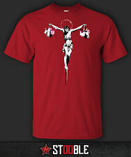 Banksy Jesus T-Shirt - New - Direct from Manufacturer