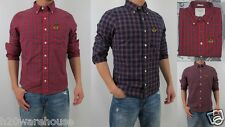 NWT Abercrombie & Fitch A&F Men Slim Fit Classic Button Ouluska Pass Plaid Shirt