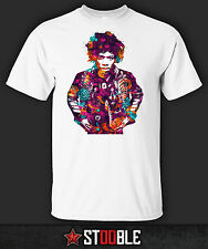 Jimi Hendrix Psychedelic T-Shirt - New - Direct from Manufacturer