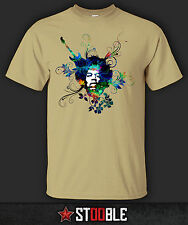 Jimi Hendrix Flowers T-Shirt - New - Direct from Manufacturer