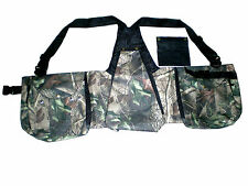 "New Falconry Camo Vest, Hawking, Hunting, Jungle, Wild Vest (""XL"" & ""XXL"" Sizes)"