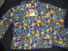 Boys Simpsons Winter Pyjamas Size 2,3,4, 5,6 & 7  BNWT
