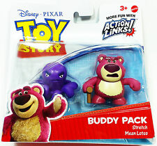 Toy Story Buddy Pack Choose From Stretch & Mean Lotso or Hero Woody & Bullseye