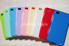 For iPhone 4 4s Cute Candy Color Quality TPU gel Jelly Flexible Case Pastel Pick