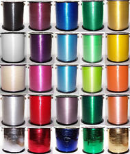 Curling Ribbon in 10, 25, 50, 100 or 500 Meter lengths. Choose colour & quantity