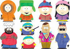 SOUTH PARK IRON ON T-SHIRT FABRIC TRANSFER KENNY CARTMAN KYLE STAN OR STICKER