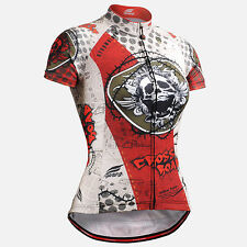 FIXGEAR CS_W502 Women's Short Sleeve Cycling Jersey road bike shirt bicycle MTB