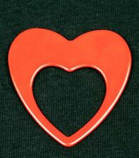 RED or PINK Heart Shaped ReadeRest Eye, Sun, ID Badge, Holder