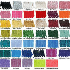 "Shawl Fringe,Chainette 14"" & 18"" & 1800 ft Spools,Craft,Sewing,Belly Dancing"