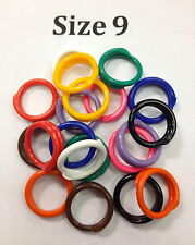 Size 9 - Poultry, Chicken, Bird Spiral ID Leg Bands
