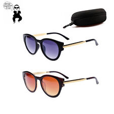 PSY star Style men women UV400 Sunglasses UV Protection Glasses fashion Eyewear