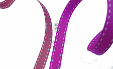 BERTIE'S BOWS RIBBON GROSGRAIN SADDLESTITCHED RIBBON 13MM ONLY 99P FOR 2 METRES