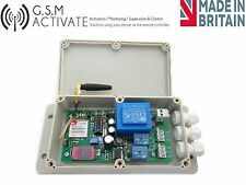GSM Switch  UP TO 10 AMP LOADS  - switch on your devices with your mobile!!