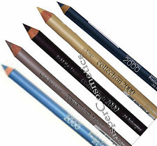 Soft Textured Kohl Eyeliner Pencil Green Taupe Plum Blue Teal Grey Brown & Gold
