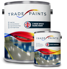 2 Pack Epoxy Resin Concrete Garage & Industrial Floor Paint Coating