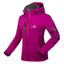 New Windstoper Soft Shell Breathable Hiking Golf Ski Woman Outdoor Jacket Coats