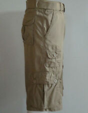 SOUTHPOLE Mens BIG & TALL Fine Twill Cargo Shorts SP Collection KHAKI pic size