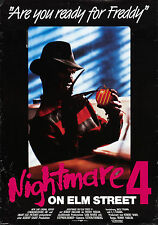 A NIGHTMARE ON ELM STREET 4 Movie POSTER Horror Freddy